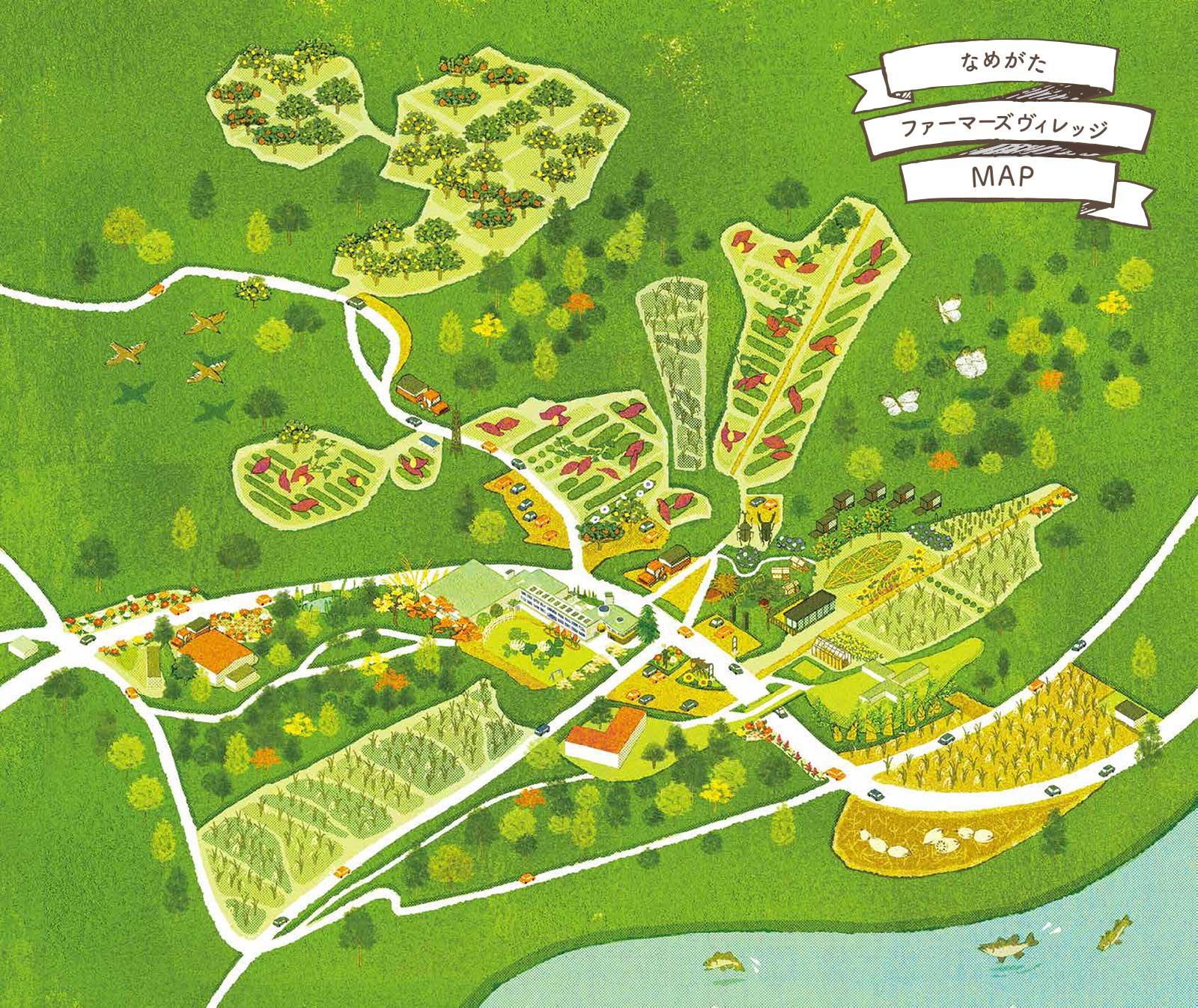 なめがたファーマーズヴィレッジ MAP